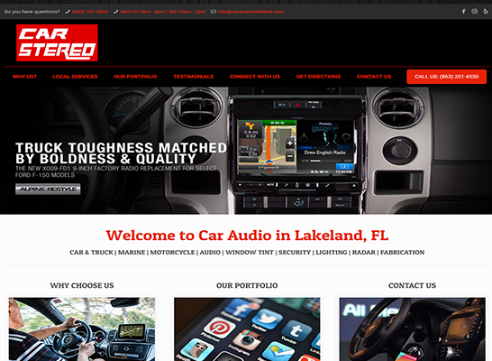 car-audio-lakeland-website